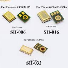 1 stücke 100% Neue Mikrofon interne MIC Lautsprecher Für iPhone 4 4 S 5 5G  5 S 5C SE 6 6G 6 S 4,7