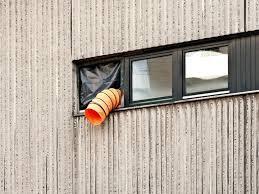 Klimaanlage Wohnung Fenster Klimaanlage Außenteil Aus Fenster