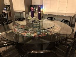 glass table top 72 inch round 12 inch thick beveled tempered intended for incredible property 72 inch round glass table top plan
