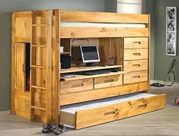 loft bed with trundle and desk loft bed all in one desk drawers trundle storage in loft bed