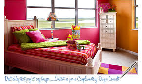 pink and orange bedroom ideas photo - 7