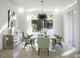 White Living Dining Room Looks Lavish Home Design