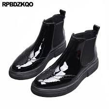 luxury sneakers winter trainer stylish fur booties shoes casual brogue mens black patent leather boots wingtip ankle shoes for women snowboard boots