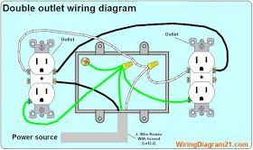 double outlet wiring diagram wiring diagram home