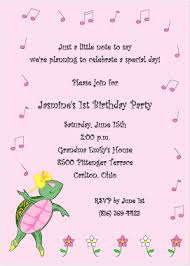 Personal Invitations Birthday Message For 1st Birthday Girl Girls 1st Birthday Invitations