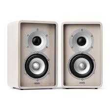 image is loading numan 2 way hifi shelf stereo speaker home