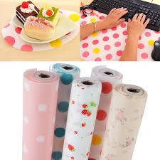 Kitchen Cabinet Shelf Paper 300cm Cute Polka Dots Shelf Paper Cabinet Drawer Liner Kitchen