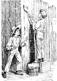 Image result for fence painting tom sawyer