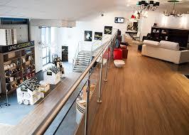 Entire office decked Periscope Mezzanine Floors Lazy Penguins Got New Office Make It Look Amazing
