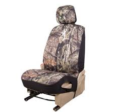 browning universal fit low back bucket seat cover neoprene break up country camo