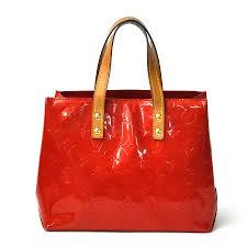 brandvalue louis vuitton louis vuitton tote bag mini handbag monogram ヴェルニリード pm rouge red patent leather constant er popularity
