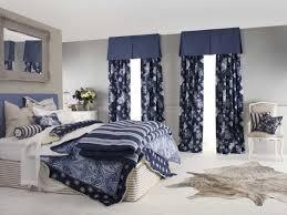 Vorhänge Schlafzimmer Blau Vorhang Blau Weiß Gestreift