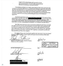 Sample Non Disclosure Agreement Document Preview Letter Of ...