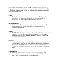 simple one page business plan template one page business plan