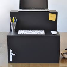 $25 for a standing desk that folds up!! perfect gift & a great idea