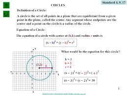 3 standard 4 9 17 circles definition of a circle a circle is