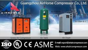 rotary screw air compressor for sale. whole sale price tank mounted rotary screw air compressor for y