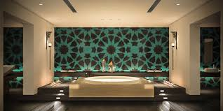 Islamic Art With Arabesque Shapes In Dining Room With U0027Ruban Islamic Room Design