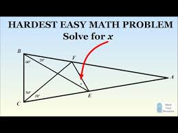 can you solve this mit admissions question geometry problem  hard geometry problem the hardest easy geometry problem sunday puzzle mind your