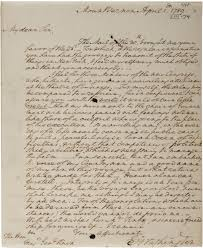george washington s reluctance to become president the george washington to henry knox 1 1789 gilder lehrman collection