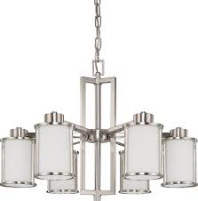 full size of modern nickel chandeliers contemporary light brushed chandelier with black paper shades polished mini