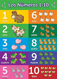 Number Chart For Toddlers