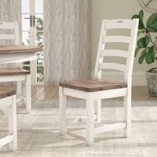 fallston ladder back solid wood dining chair