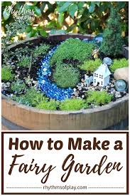 how to start your own fairy garden
