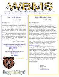 schools newsletter ideas 28 images of middle school newsletter template leseriail com