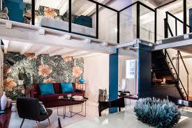 Loft Design Colorful Loft Design With Jewel Tones Adorable Home