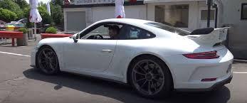 2018 porsche gt3 white. beautiful white 2018 porsche 911 gt3 on nurburgring  inside porsche gt3 white 1
