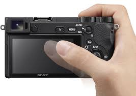sony digital camera touch screen. sony a6500 review -- product image digital camera touch screen