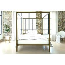 wrought iron canopy bed frame queen – Tagilka.info