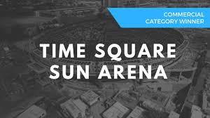 Time Square Sun Arena Built Using Klip Lok Cladding And