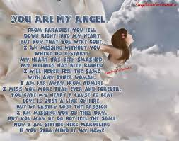 Falling Love Angel Quotes Romantic Love Passionate Poems Collection