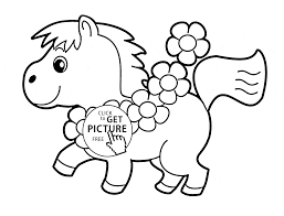 Small Picture Little Horse Coloring Pages Coloring Pages