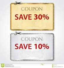 10 Off Coupon Template Sale Print Coupon Tag Cut Off Template Pattern Stock