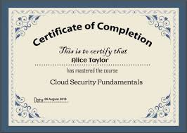Create Professional Certificates For Courses And Tests Using