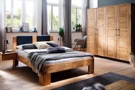 Schlafzimmer Massivholz Zent Wildeiche Geölt S12