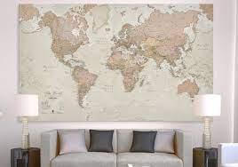 canvas map maps international