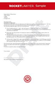 Termination Of Employment Letter Uk Template