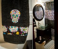 Sugar Skull Bathroom Decor Sugar Skull Bathroom Decor Hozdeco Home Design Decorating