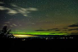 Can You See The Northern Lights In Montana Northern Lights Were Over Western Montana