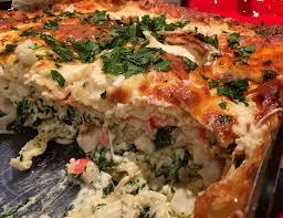 Seafood Alfredo Lasagna - Montreal Food ...