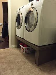 washer and dryer pedestal comments