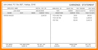 Pay Stub Templates Excel Employee Pay Stub Template Excel In 2019 Payroll Template