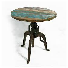 rustic round kitchen table. Create Warm Dining Setting With Rustic Round Room Tables : Inspiring Small Reclaimed Kitchen Table O