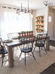 modern farmhouse furniture. diy modern farmhouse dining table by shanty2chic furniture