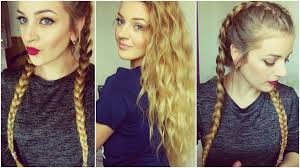 Tuto Tresses Coll Es Ondulations Youtube 2 Tresse Coller