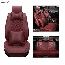 <b>Universal</b> Leather <b>car seat covers</b> For Volkswagen vw Skoda Toyota ...